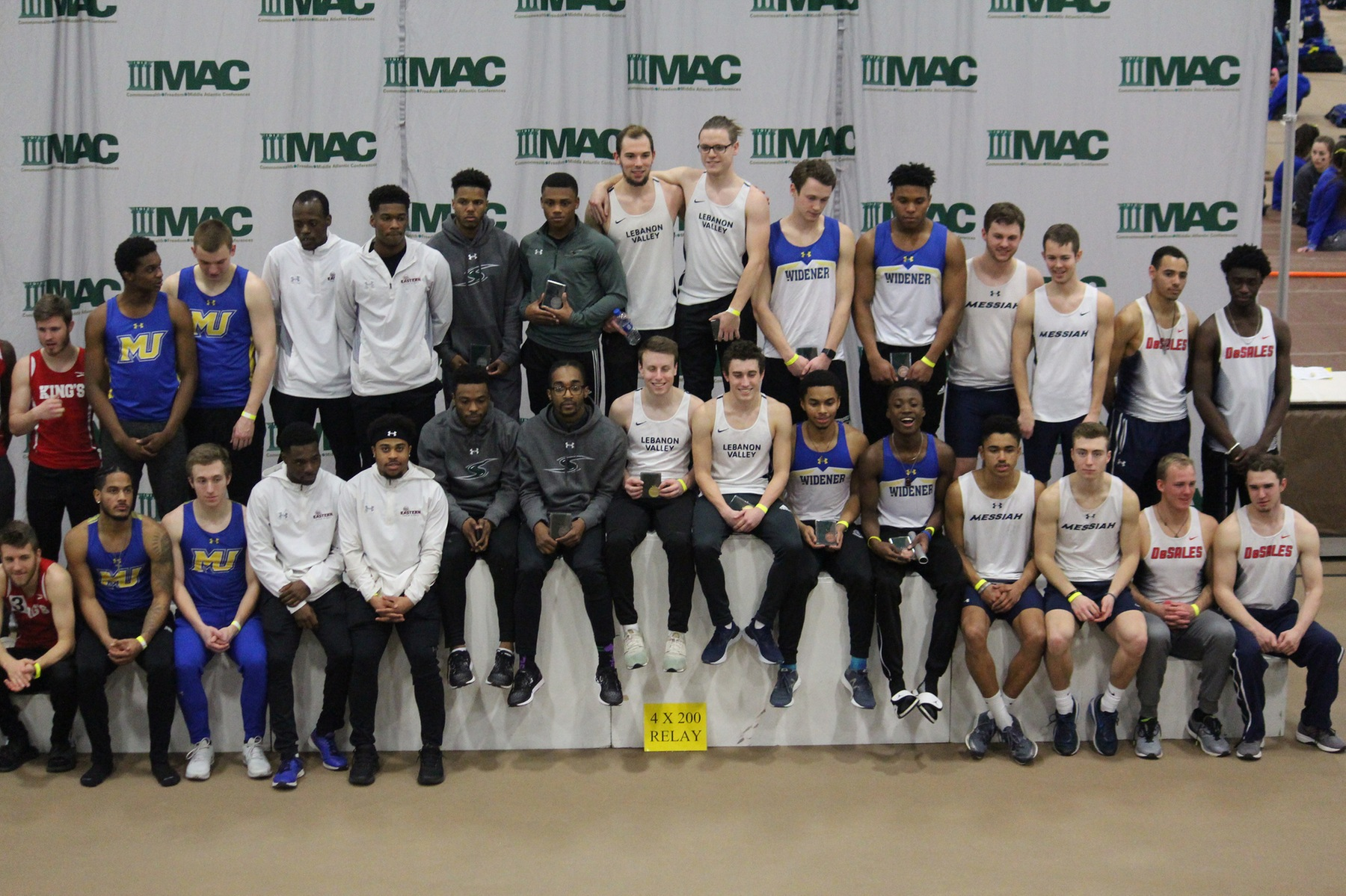Defending Champion Mustangs in Second After Opening Day of MAC Indoor Championships