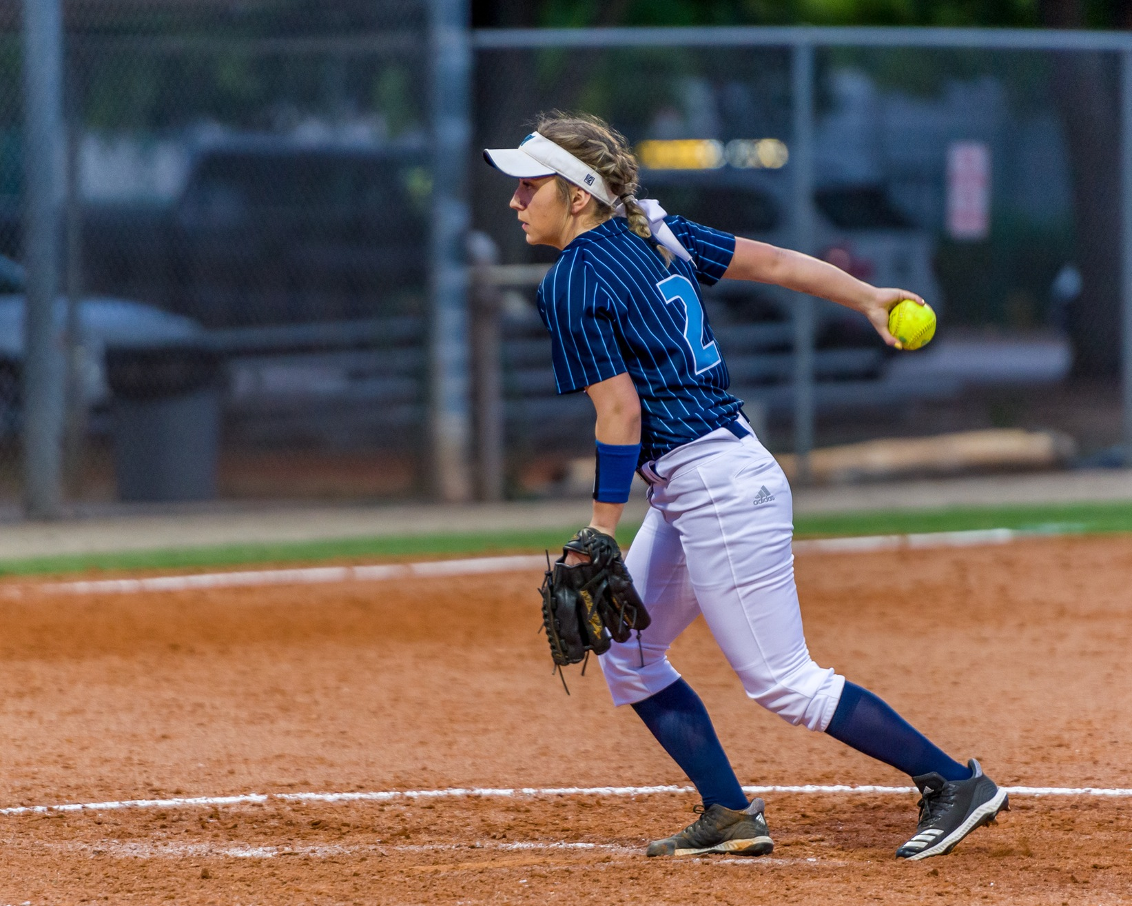 Sophomore Michaela Epp faced 25 batters in the Reivers double-header with College of Central Florida.