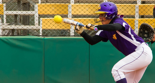 Softball team returns to action with three-game set at Eastern Kentucky