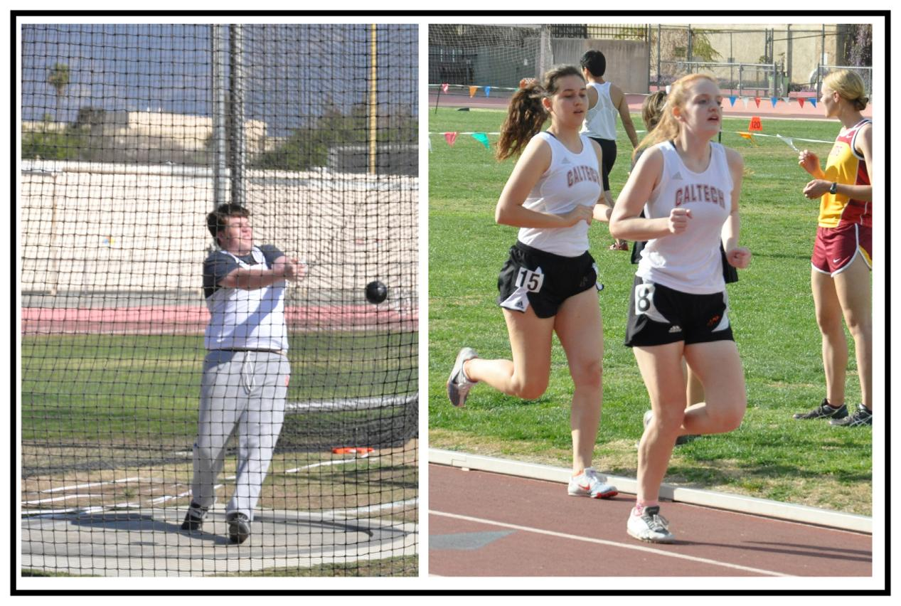 Caltech Takes Part in Pomona-Pitzer All Comers