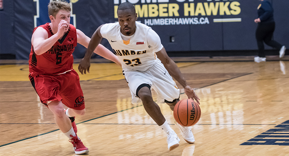 No. 11 HUMBER BEATS FANSHAWE, 70-59, MOVES INTO SECOND