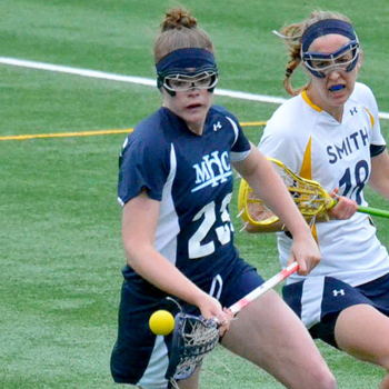 Bell's Nine Tallies Lead Lacrosse Past Smith, 18-9