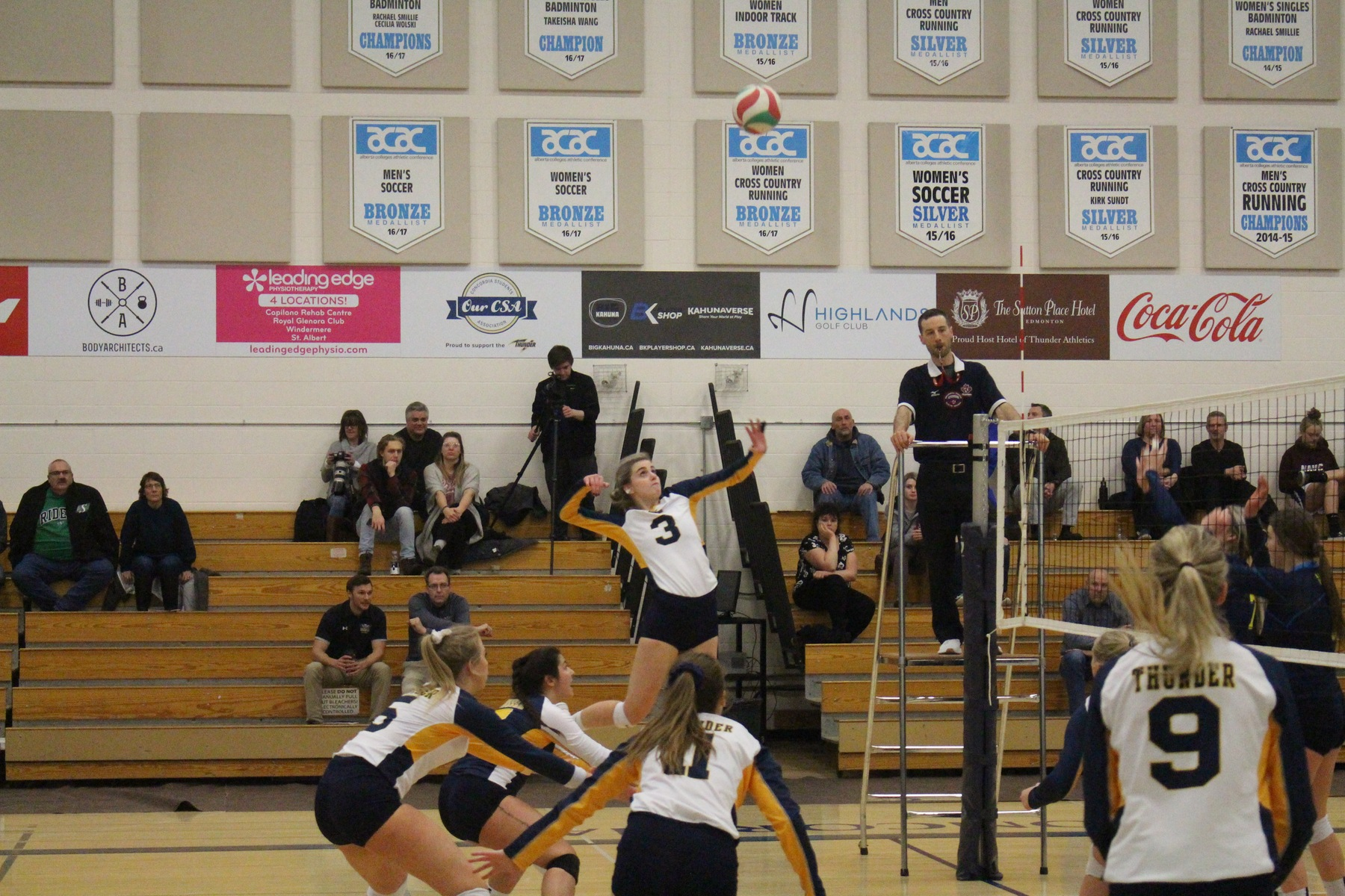 Thunder fall to Ooks in 4 sets