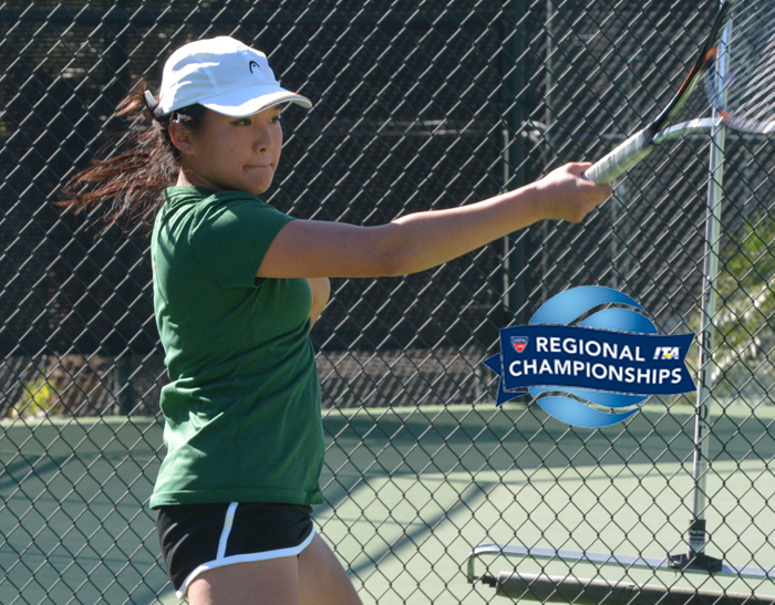 Tennis competes at USTA/ITA Regional Championships