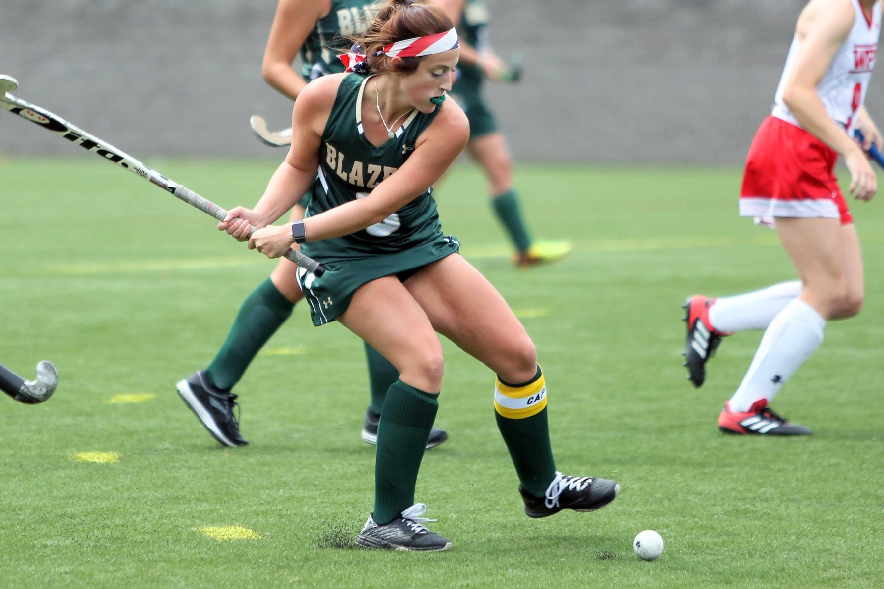 Messier Breaks Two Program Records As Field Hockey Tops Sage