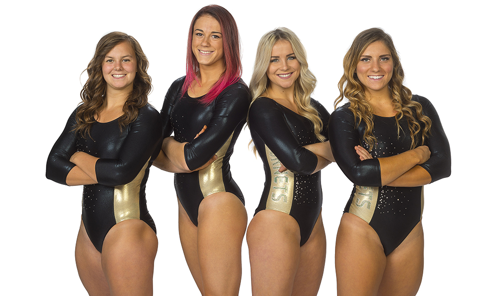 GYMNASTICS FACES UC DAVIS AND SEATTLE PACIFIC FOR SENIOR NIGHT ON SATURDAY