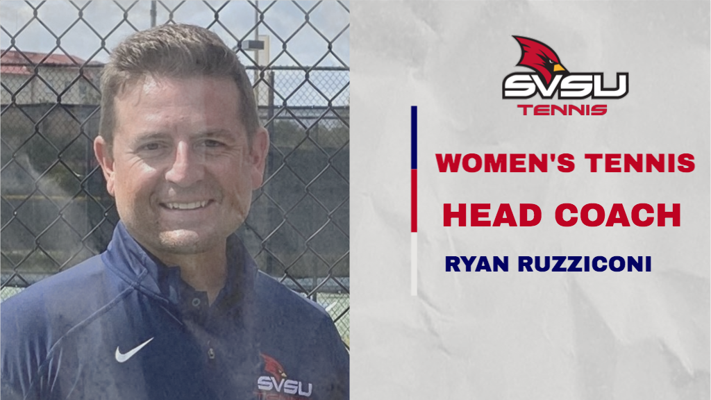 SVSU Athletics Tabs Ryan Ruzziconi as Women's Tennis Head Coach