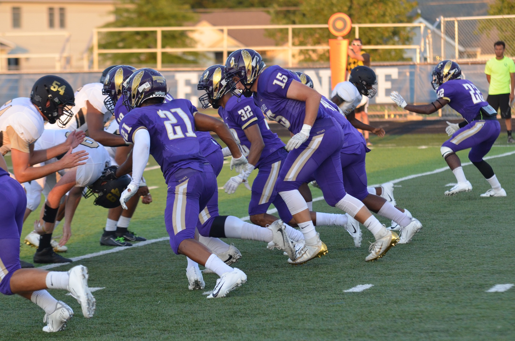 Football hosts Hanover on Homecoming