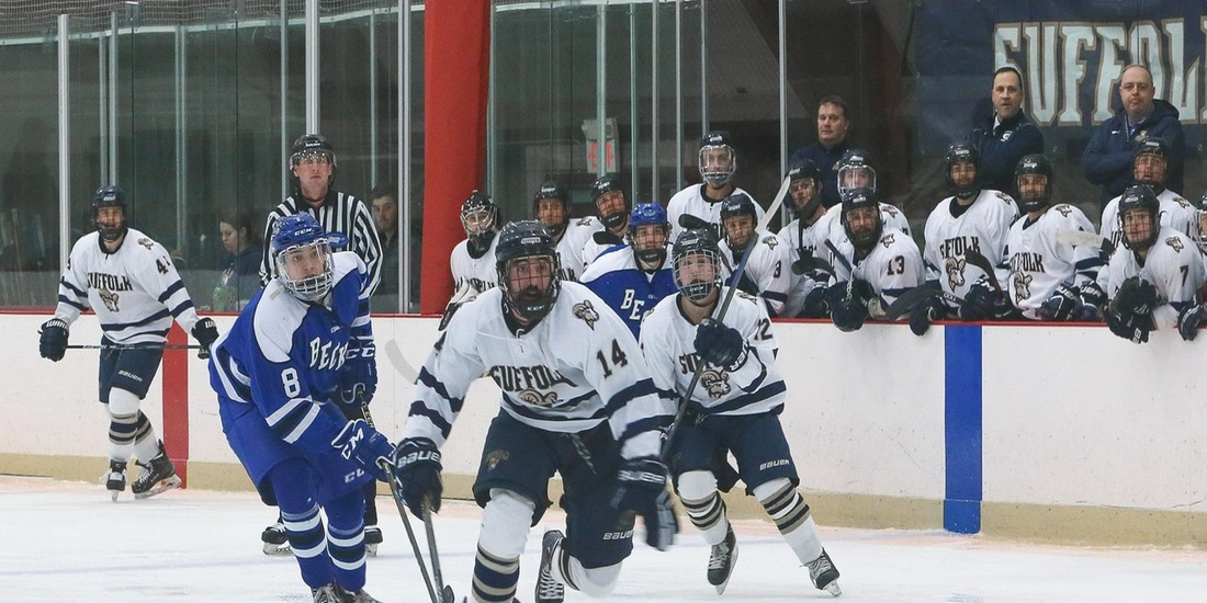 Men's Hockey Takes Win Streak into Home-and-Home with UNE