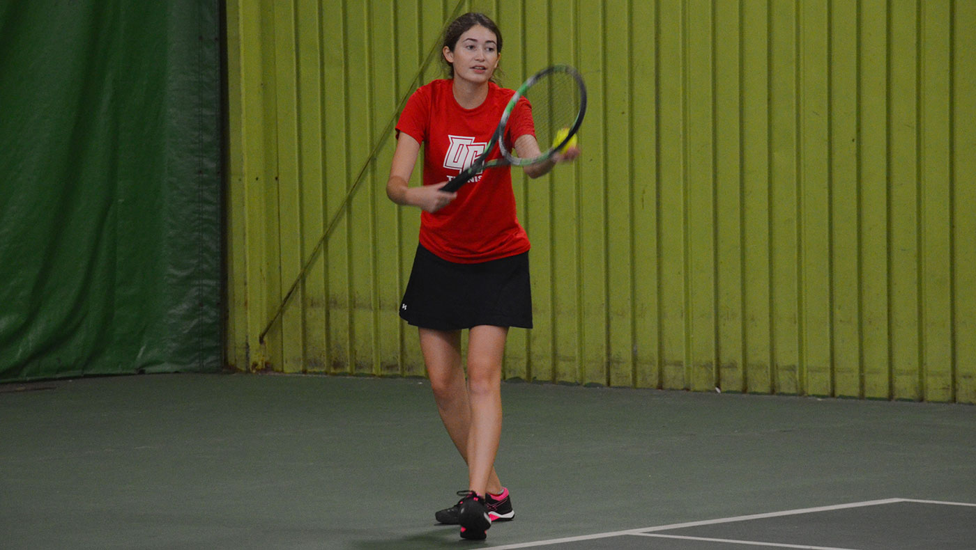Women's tennis team opens season with 6-3 loss against Defiance