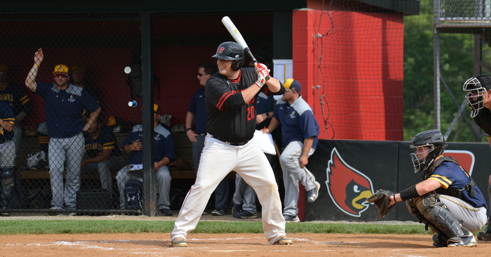 Cardinals Downed by Spartans, 12-3