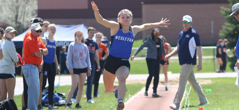 She will compete: DWU's Lamer will vie for heptathlon title at national championships