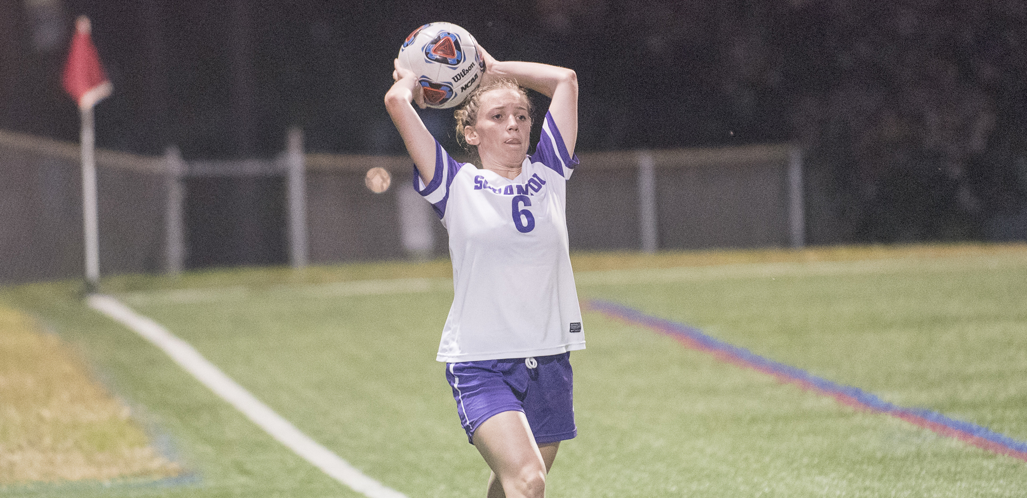 Senior Katie Cullen scored her first goal of the season in the Royals' 3-0 win over Haverford on Wednesday night.