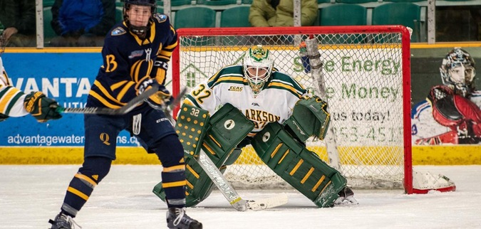 Clarkson Takes Game One of Quarterfinals Over Quinnipiac