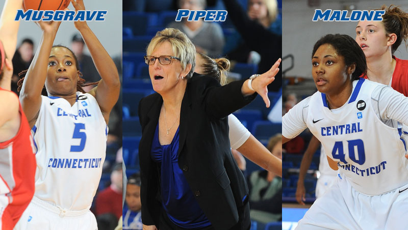 Trio of Blue Devils Honored by NEC on Friday