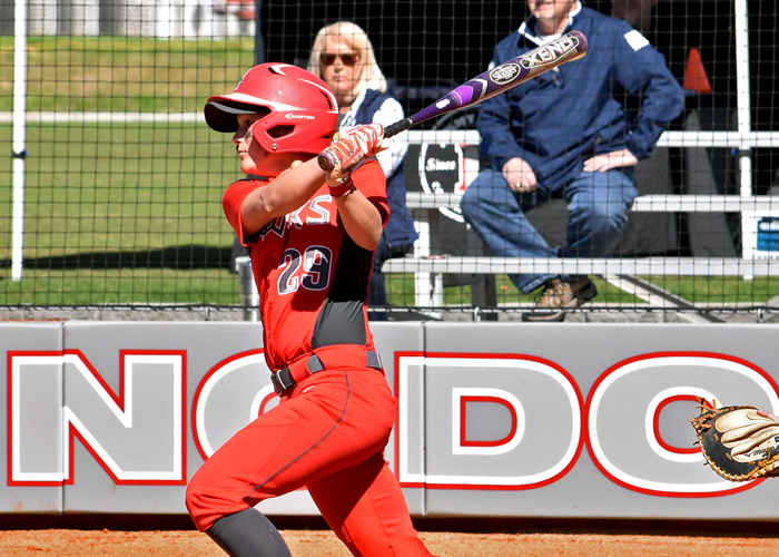 Madison Perryman had two hits and an RBI in Friday's doubleheader with Covenant.