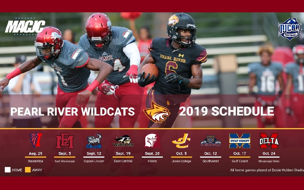 Pearl River announces 2019 football schedule