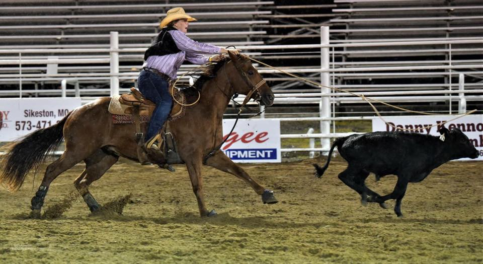 Madison Steele gains a learning experience after competing for Three Rivers at CNFR in Wyoming