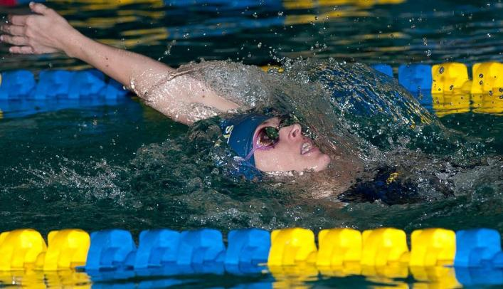 Women's Swimming Finishes Strong at Falcon Invite