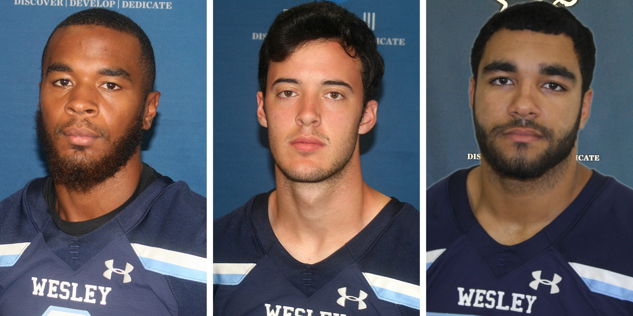 Bruhn, Burroughs, Woodruff collect NJAC weekly honors