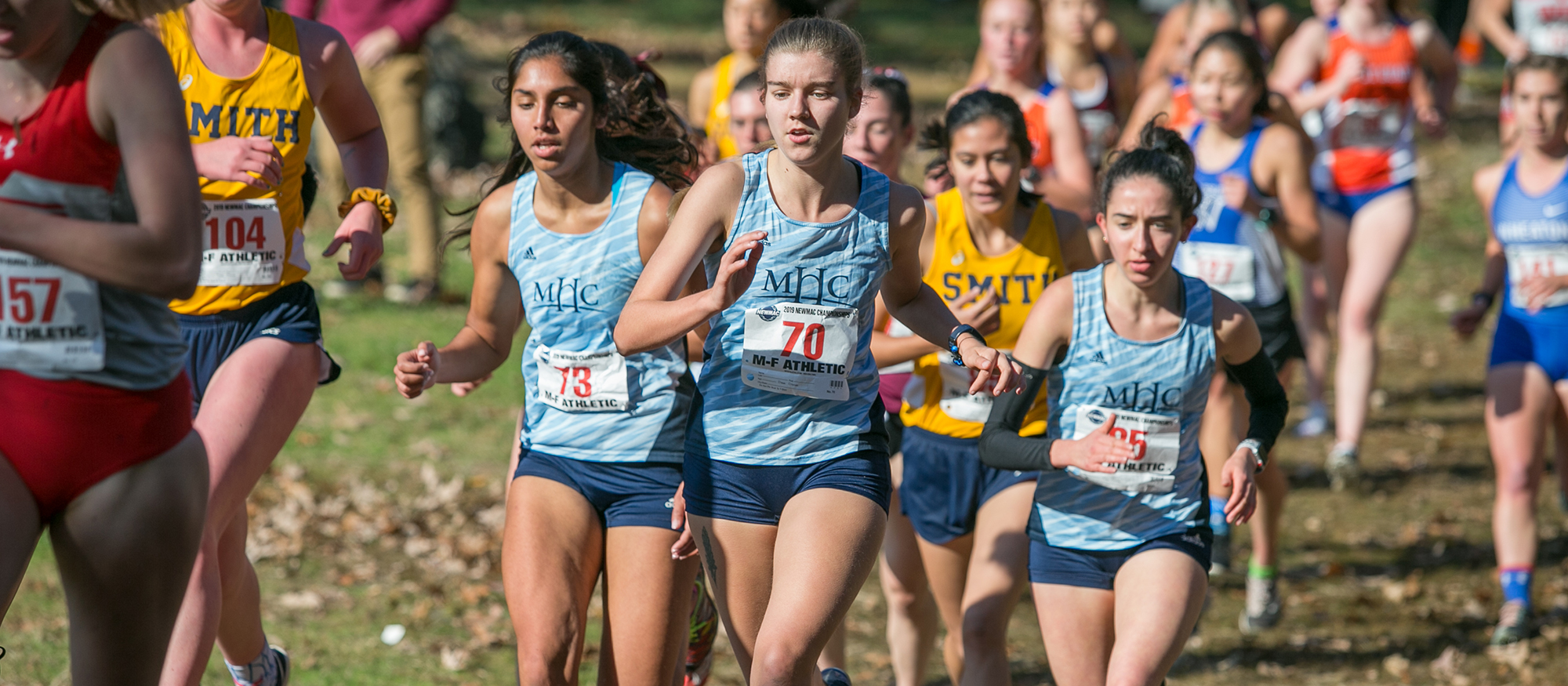 Cross Country Finishes Second at NEWMAC Championships For Highest Finish Since 1992; Selkin Named Rookie of the Year