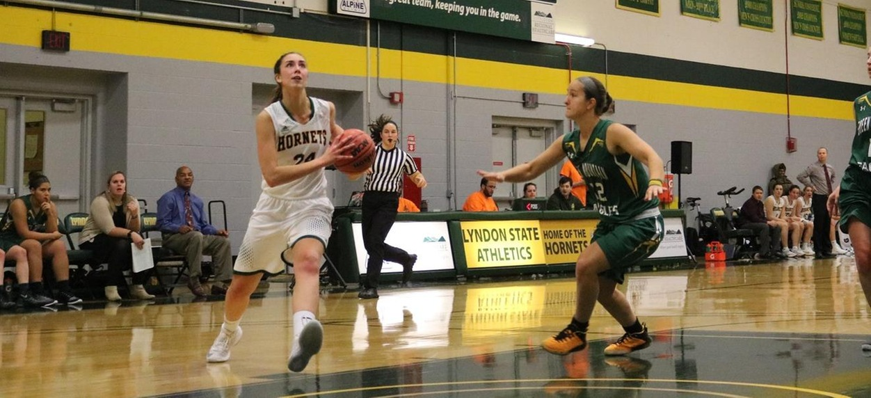 Hornet women run away from Eagles in NAC opener.