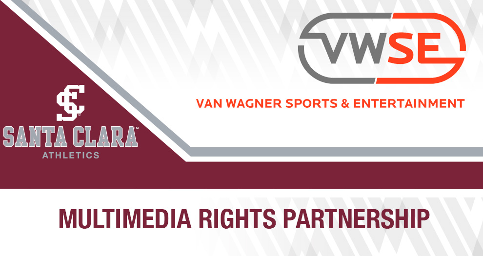 Santa Clara Athletics Signs Multimedia Rights Partnership with Van Wagner Sports and Entertainment