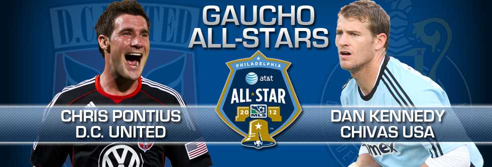 Gauchos in the Pros: Kennedy, Pontius Make MLS All-Star Team
