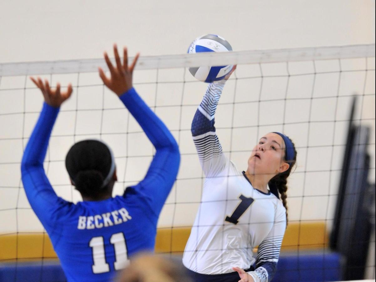 Maritime Volleyball Falls To Becker In Home Opener
