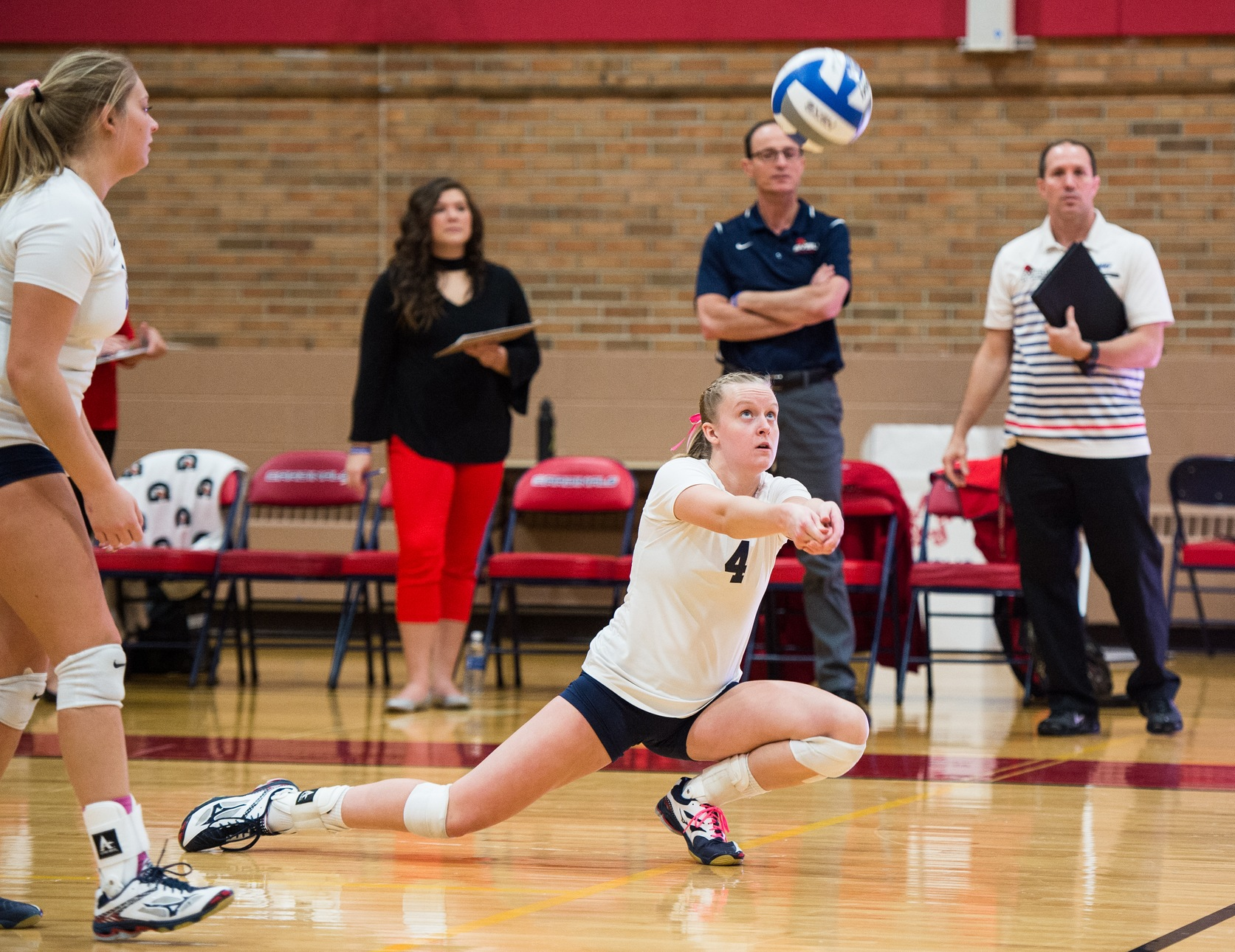 Volleyball Battles in five-set defeat to #10 Ferris State