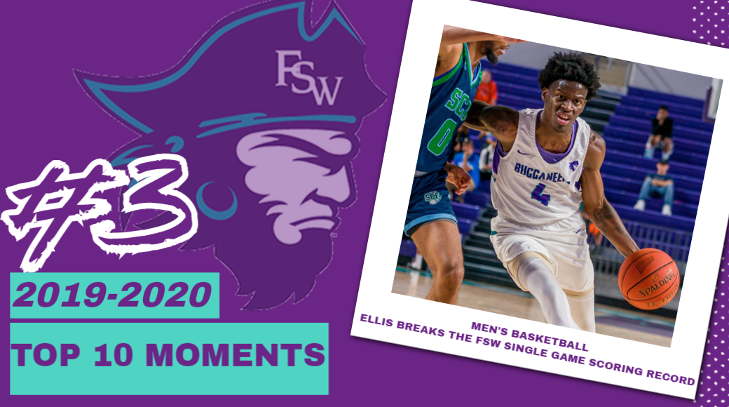 FSW Top 10 Moments of 2019-20; #3- Ellis Lights Up St. Pete For School Record 41