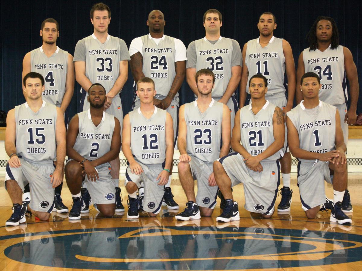 men's basketball team members - penn st.-dubois