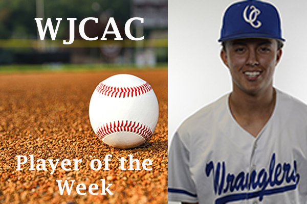 WJCAC Baseball Player of the Week (April 1-7)