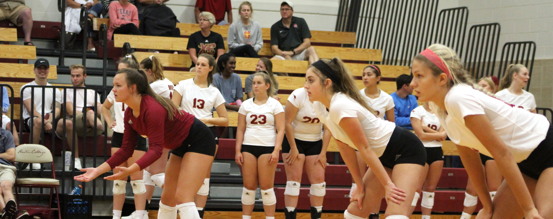 Austin College Volleyball Falls Twice
