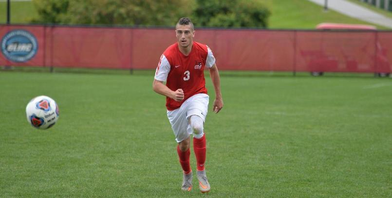 Jordan Kalk moved into a tie atop the SVSU record books with his 39th career goal against the Pumas...