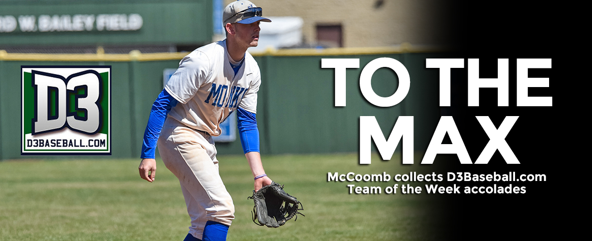 McCoomb Listed on D3Baseball.com Team of the Week