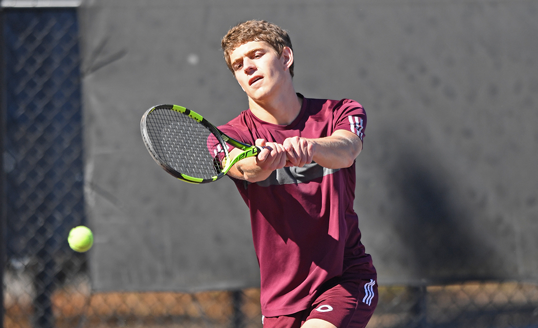 Maroon Men's Tennis Doubles Begins ITA Oracle Cup With Victory