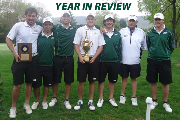 Men's Golf Team • 2013 Centennial Conference Champions