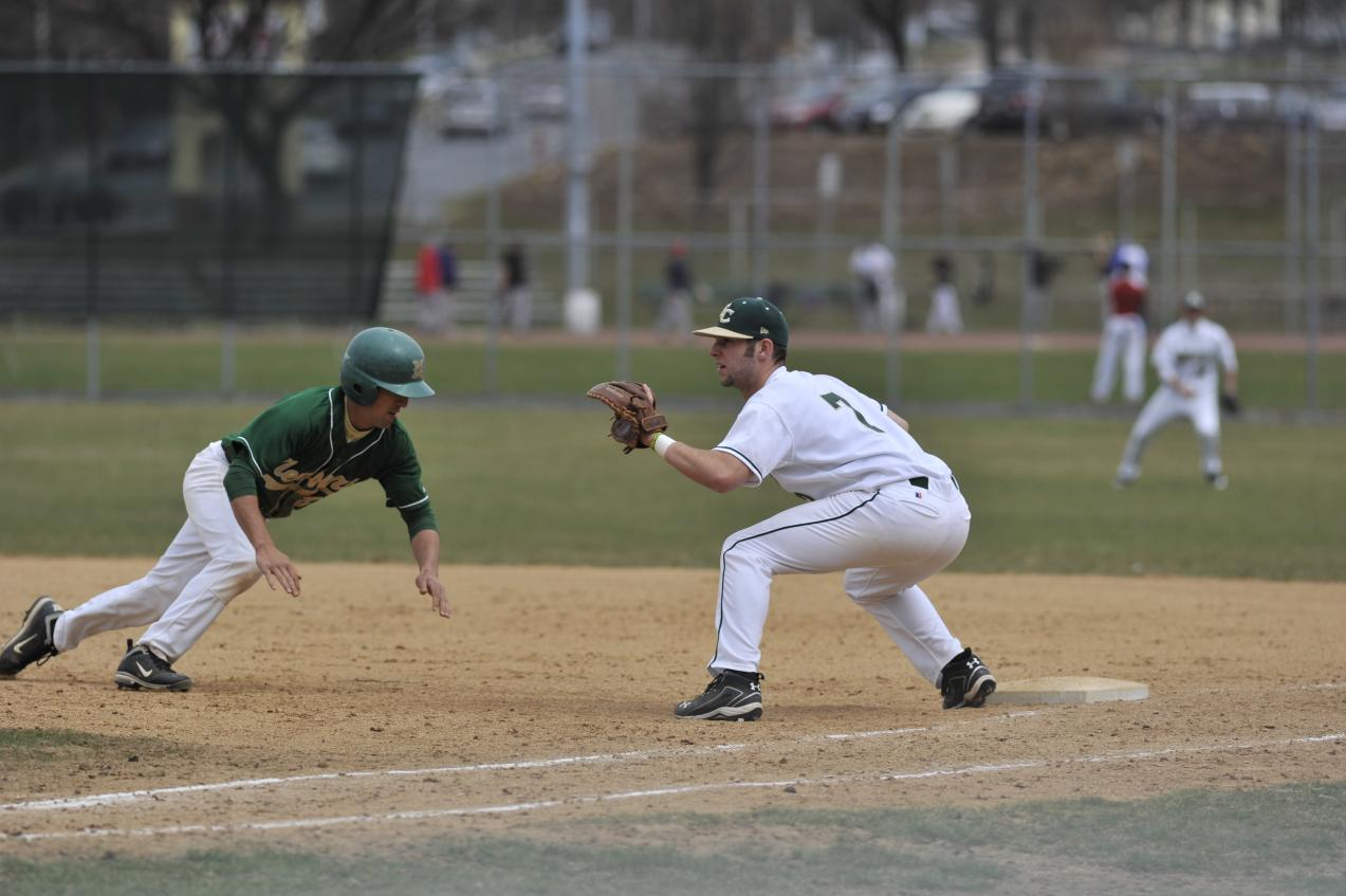 Mitchell College Tops Baseball 8-4, 6-5