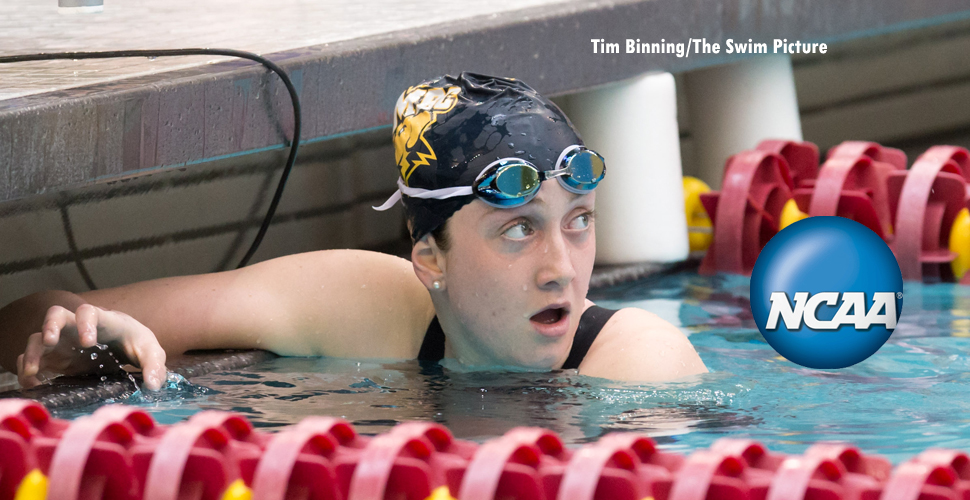Escobedo Wraps Up Weekend with the 200 Breaststroke at 2014 NCAA Championships