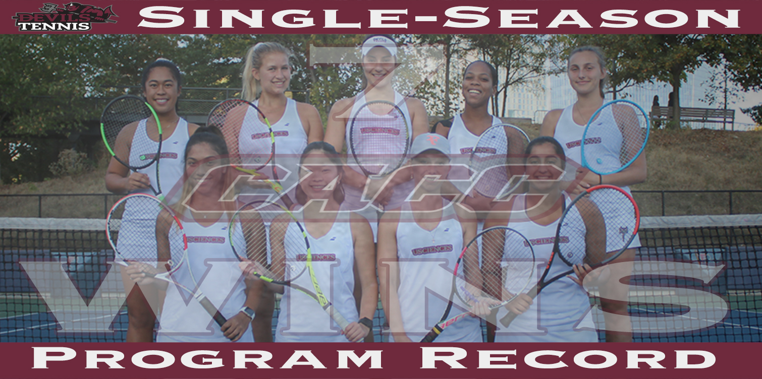 Women's Tennis Clinches Three Seed in CACC Tournament; Sets Program Record for CACC Victories with 6-1 Win at Post