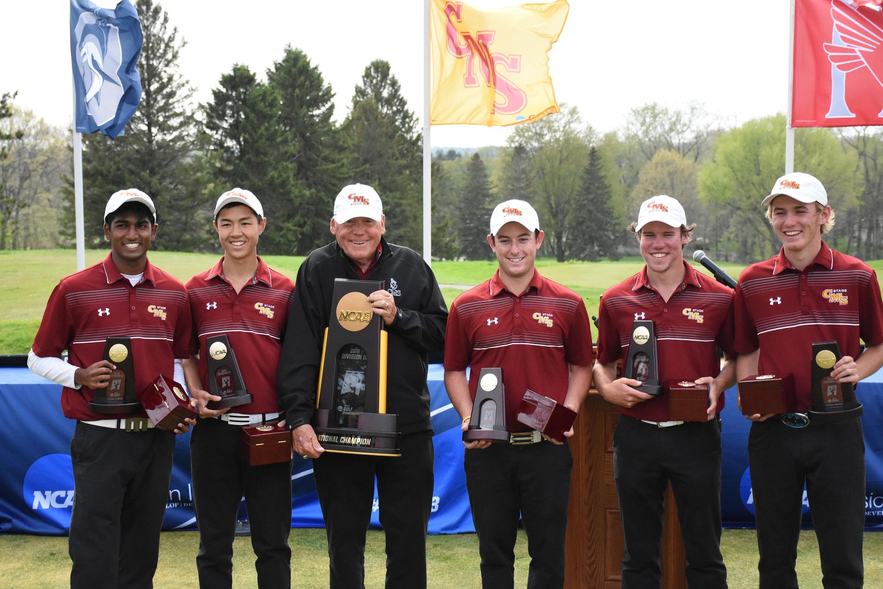 National Champions – CMS Men's Golf wins DIII Championships