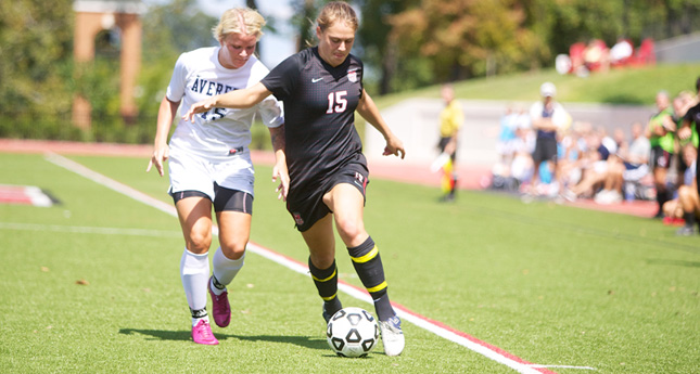 Shelley Hoath Assists on All Three Goals as Hornets Defeat Averett 3-0