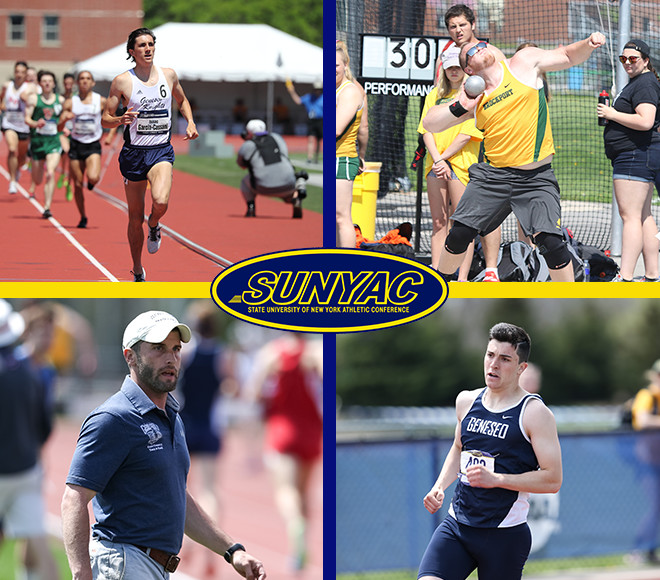 SUNYAC announces men's outdoor track and field annual awards
