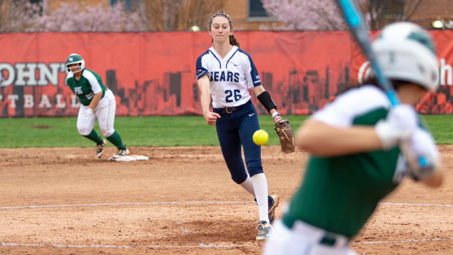 First-Place Farmingdale Nabs Two Off Softball