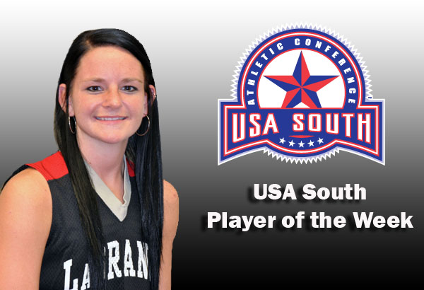 Women's Basketball: Miller selected as USA South Player of the Week