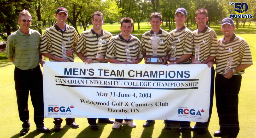 KERFOOT'S 2003-04 GOLF SEASON
