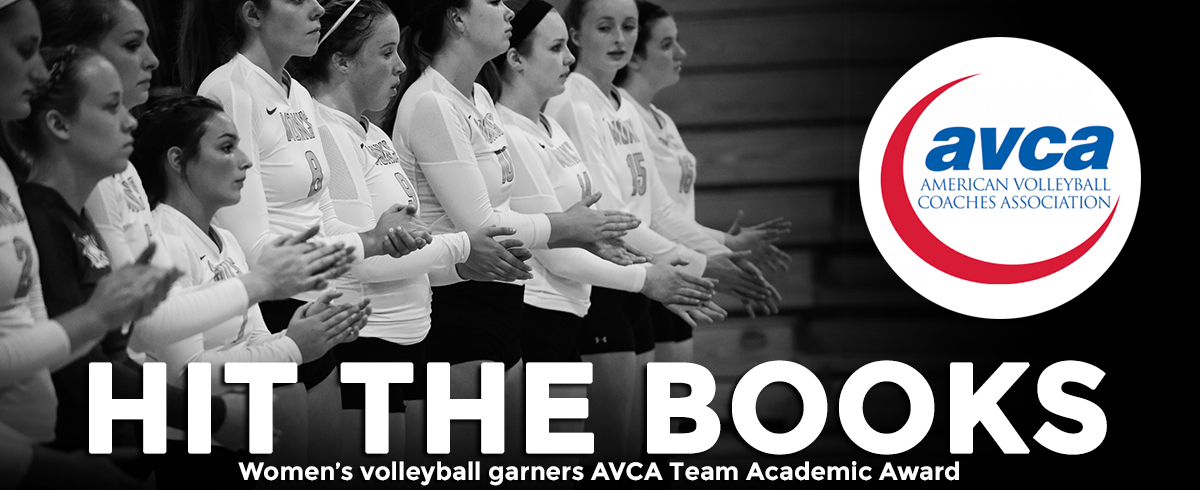 Women's Volleyball Garners AVCA Team Academic Award