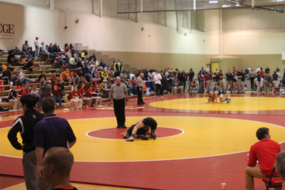 Wrestling team hosts 2010 Simpson Invitational