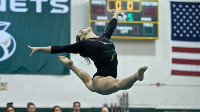GYMNASTICS SCORES SEASON HIGH IN WIN OVER UC DAVIS, ALASKA ANCHORAGE